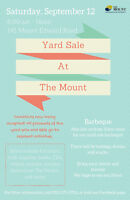 The Mount's Yard Sale & BBQ