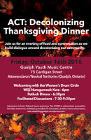 Guelph's 10th Annual Decolonizing Thanksgiving Dinner