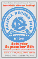 Halifax Record Fair Sept. 8th records, Lps, 45s cassettes
