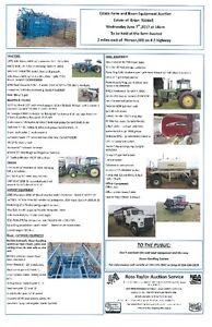 Bison Handling and Farm Equipment