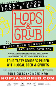 2 Hops and Grubs tickets