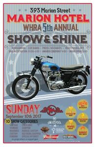 MARION HOTEL 5TH ANNUAL MOTORCYCLE SHOW AND SHINE
