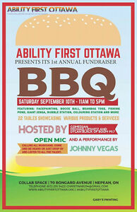 Ability First Ottawa Annual BBQ Fundraiser