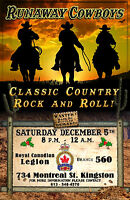 560 Legion Kingston Live Band Sat. December 5th 8 P.M. - 12 A.M