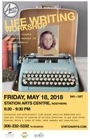 MAY 18-Life Writing (MEMOIR) Workshop-Rosthern Station Arts