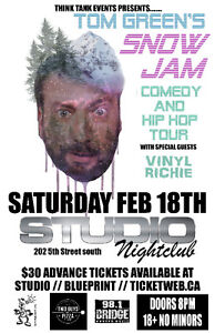 Tom Green's Snow Jam Comedy & Hip Hop Tour in LETHBRIDGE