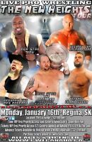 CWE Live In Regina Ft. Ring Of Honor Star ACH