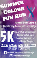 The Summer Colour Fun Run - www.colourrunlethbridge.com