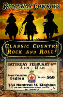 560 Legion Kingston - Live Band Sat. Feb. 4th 8PM - Midnight.