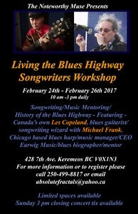 Living The Blues Highway Songwriting Workshop