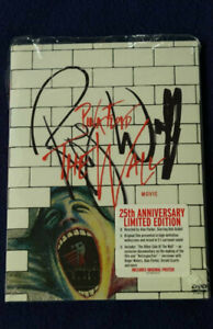 Roger Waters signed Pink Floyd The Wall dvd