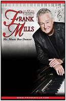 FRANK MILLS IS COMING TO HALIFAX