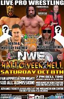 NWE WRESTLING LIVE IN MIRAMICHI! Fan appreciation night!