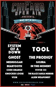 1 Ticket, Chicago Open Air Fest - Tool, SOAD, Ghost...
