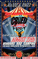 VENDORS WANTED FOR ROCK MUSIC FESTIVAL