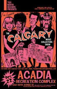 Calgary Record Albums Cassettes CD Sale, Sunday, Oct 22 ACADIA