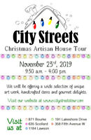 CITY STREETS 21st ANNUAL ARTISAN HOUSE TOUR