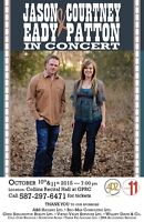 Jason Eady & Courtney Patton in Concert