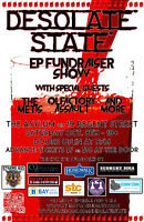 Desolate State EP Fundraiser (Check out event page for contest!)