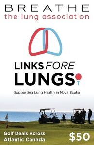 Links Fore Lungs Golf Book featuring 80 great golf deals!