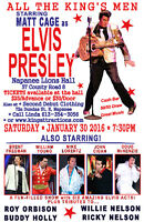 All The King's Men Elvis Show starring Matt Cage & 5 more!