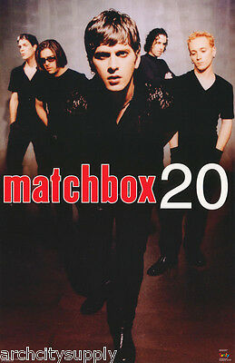 POSTER : MUSIC : MATCHBOX 20 - ALL 5 COLLAGE  - FREE SHIPPING !  #6172   RC31 i