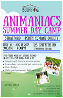 Stratford Perth Humane Society Summer Camp - SPACES AVAILABLE!