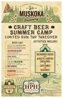 Camp Muskoka Craft Beer Summer Camp