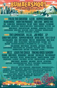 2019 BUMBERSHOOT Tickets  For Sale Below  the EARLY BIRD PRICE