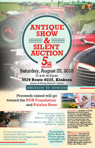 Fifth annual Antique Farm Show fundraiser set for Aug. 25