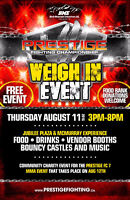 WEIGH IN EVENT