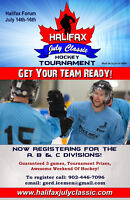 GET YOUR TEAM READY FOR THE HOCKEY EVENT OF THE SUMMER!