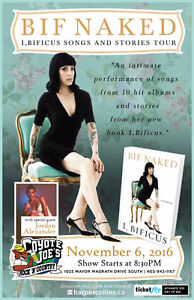 Bif Naked - I, Bificus Songs And Stories Tour
