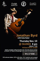 Jonathan Byrd with Kaia Kater