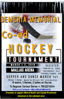 Memorial CO-ED Hockey Tournament