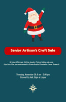 Senior Artisan's Christmas Craft Sale
