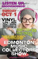 EMCS Tons of Vinyl Records LPs 45s CDs Sunday Oct. 1