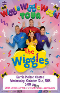 Wiggle tickets - Barrie - 6:00PM Show
