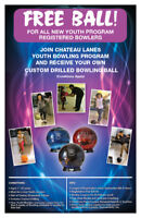 FREE BOWLING BALL FOR YOUTH