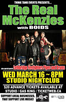 THE REAL MCKENZIES, BOIDS & LETHBRIDGE FIREFIGHTERS PIPES & DRUM