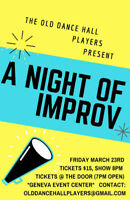 A Night of Improv! Spring into Spring!!