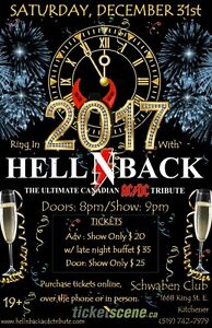 Ring in 2017 with HELL N BACK Kitchener / Waterloo Kitchener Area image 1