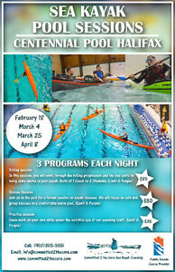 2017 Sea Kayak Pool Sessions - Centennial Pool Halifax