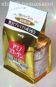 Meiji PREMIUM Amino Collagen Powder, Refill 214g (30days),  2017-04
