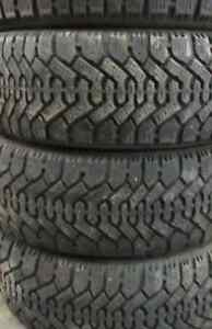 TIRES 16 INCH 70%===205=60=16===(((4TIRES)))goodyear nordic wint