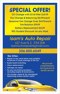 SPECIAL OFFER,TIRE CHANGING AND BALANCING $15/EACH