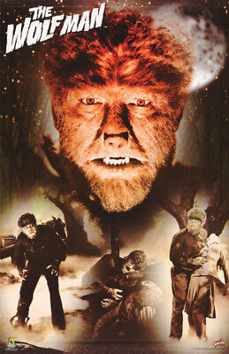 POSTER: MOVIE REPRO : THE WOLFMAN - LON CHANEY - 1941 - FREE SHIP  #857 RW7 V