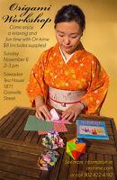 Origami workshop by Orihime*・゜゚・*:。 。:*・'*:。 。:*・゜゚・*