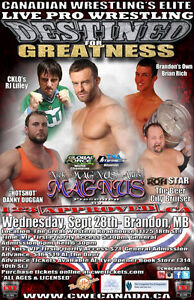 CWE Live Pro Wrestling In Brandon Tickets