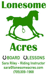 Boarding and Riding Lessons Available